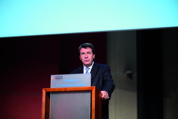 Congrès de l'UPA 2009 - Xavier Darcos, ministre du Travail, des Relations sociales, de la Famille, de la Solidarité et de la Ville