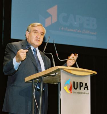 Congrès de l'UPA 2002 - Jean-Pierre Raffarin