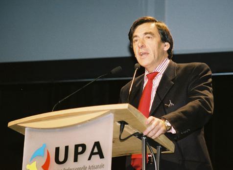 Congrès de l'UPA 2003 - François Fillon