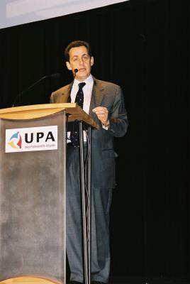 Congrès de l'UPA 2004 - Nicolas Sarkozy