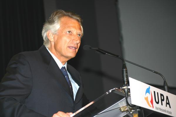 Congrès de l'UPA 2006 - Dominique de Villepin